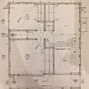 Overview,間取り図,パントリー,勾配天井,シーリングファン,カウンターキッチンに関連する他の写真