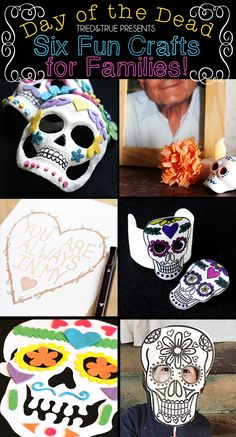 We wrapped up our Dia de los Muertos Week a while ago and I'm still recovering from all the brightly-colored fun! I though I would put all the projects in one spot to make it easier for everyone. There's a little something for everyone in your family: young kids will enjoy coloring their own masks...Read More »