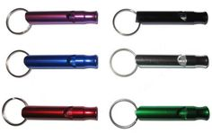Description: The Safety First Tube Whistles are made from durable anodized aluminum and makes a great functional and practical everyday item. They will not crack or break like plastic whistles and the aluminum will not rust. Home Defense, Self Defense, How To Whistle Loud, Safety First, Everyday Items, Diy Gifts, Unique Gifts, Cool Things To Buy, Product Description