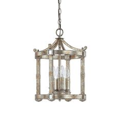 Capital Lighting 9161SG 4 Light Palazzo Foyer Light Preferred