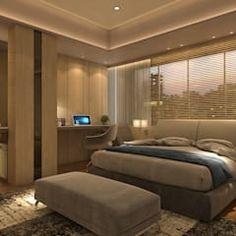 moderne Schlafzimmer von Hinge architects