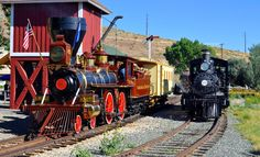 Nevada Steam Trains 4th of July 2014