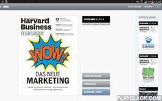 Harvard Business Manager  Android App - playslack.com , Harvard Business Manager ist die meistgelesene und bekannteste deutschsprachige Managementzeitschrift. Das Magazin berichtet monatlich über die neuesten Ansätze zur Unternehmens- und Mitarbeiterführung, stellt Trends vor und präsentiert praxiserprobte Strategien für das Management.Lesen Sie den Harvard Business Manager jetzt auch in digitaler Form. Zum Erscheinungstag des jeweils neuen Heftes steht ab 8.00 Uhr die Ausgabe zum Download…