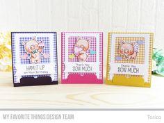 Hog Heaven Stamp Set and Die-namics, Blueprints 32 Die-namics, Stitched Fishtail Sentiment Strips Die-namics - Torico #mftstamps