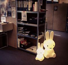 Mr Maria miffy lamp spotted at an Amsterdam office #miffy #lamp #mr maria