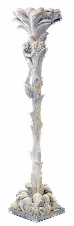 SERGE ROCHE JUNGLE CLOUMN LAMP