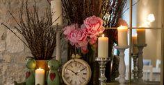 Vintage Garden - DONE Lavender Garden, French Lavender, Budapest, Dob, Candles, Display, Table Decorations, Utca, Vintage