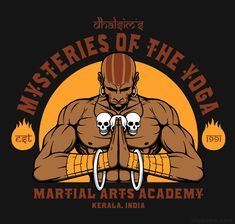 Dhalsim Yoga Martial Arts Street Fighter T-shirt
