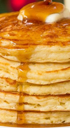 EGGNOG PANCAKES- JUDY MADE THESE JAN.1, 2017...A perfect way to use up leftover eggnog. These turned out so fluffy and taste eggnoggy. I used a bit more eggnog than is called for in the recipe as the batter was quite thick. Even with extra nog I still had to use the back of a spoon to spread the batter in the pan to keep it from being so thick that the cake wouldn't rise. Cinnamon sugar AND maple syrup sounds like gilding the lily but it was perfect. I will make these again.