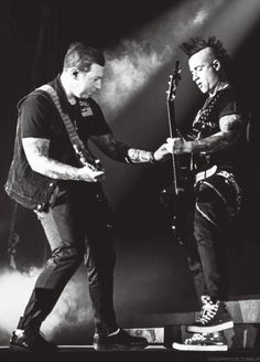 Zacky messin with Johnny.