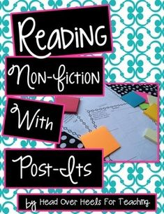 Upper Grades Are Awesome: BB Part 5 - Donors Choose + Sticky Notes = Nonfiction Readers