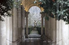 THE ILLUSION OF BORROMINI, THE GALLERY OF PALAZZO SPADA LONGER ... http://www.romeandart.eu/rome-event-calendar.html#10