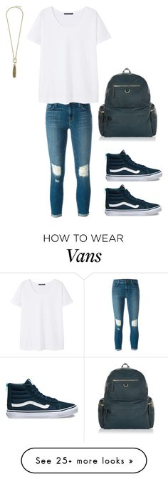 """""""B2S"""" by camilleeco on Polyvore featuring J Brand, MANGO, Vans, Cole Haan and Accessorize"""
