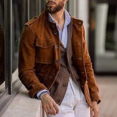 SALE * New In Jacket – Page 2 – Carbonhot Ferrari, Collar Designs, Cotton Jacket, Jacket Style, Collar Shirts, Latest Fashion Clothes, Vintage Men, Sleeve Styles, Winter Jackets