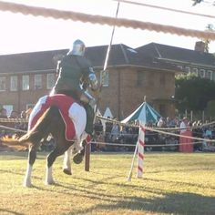 The insanely cool #Medieval #jousting at #winterfest