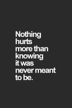 I beg to differ... Nothing hurts more than watching the ONE & ONLY person u love... Be with (& love) someone else...