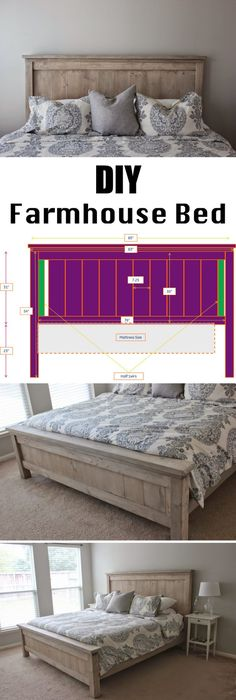 Decor DIY Images DIY farmhouse bed frame frame Purchasing A Freezer For Your Home Ar Furniture Projects, Home Projects, Diy Furniture, Furniture Plans, Farmhouse Bedroom Furniture, Furniture Removal, Furniture Outlet, Furniture Companies, Discount Furniture