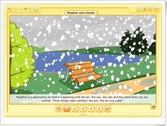 Weather and climate (Social Science de Primaria) Abc Weather, Weather And Climate, Social Science, Teaching Resources, Wedge, Learning, Activities, March, Social Studies