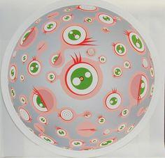 Takashi Murakami - Jellyfish Eyes, Print