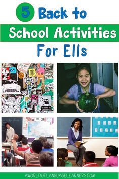 Learn easy back to school ideas to support your English Language Learners. This includes having students share an important object and review school rules. These activities will help ELLs have a great start to the year. Back To School Teacher, New School Year, Going Back To School, School Fun, School Ideas, Teaching Procedures, Teaching Ideas, Back To School Activities, School Resources