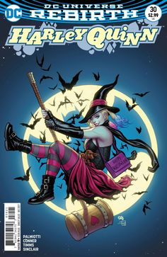 Harley Quinn #30 - Vote Harley Part Three: Pollsters and Paramours (Issue)