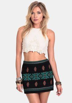 ✔️ {Cajon Pass Embroidered Skirt} ---- Threadsence