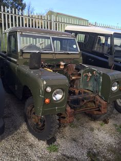 Stage one! Stay posted to see our step by step #transformation of this classic LandRover. #LandRover   (@Themesparx) on Twitter  http://themesparx.com/
