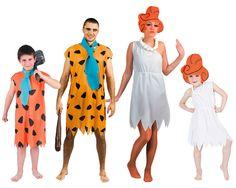 Familia de Picapiedra #disfraces #carnaval #disfracesparagrupos