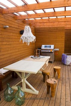 Passiivikivitalo Ideal - Katettu terassi | Asuntomessut