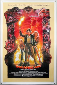 Have you ever seen a movie poster more 80s than this?