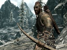 Bosmer - Nimble and quick, the Wood Elves inhabit the thick, near-impenetrable forests of Valenwood, where they are known as Bosmer. They are supreme hunters, guides, and masters in sneaking and thievery, revering nature and the forest, and may be the only Elves with a sense of humor.