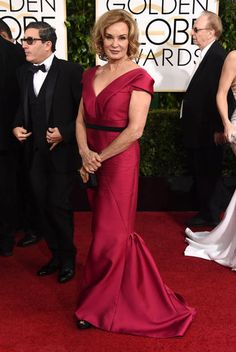 Golden Globes 2015 Red Carpet Arrivals   Jessica Lange ('American Horror Story')