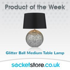PRODUCT OF THE WEEK: #Glitter ball medium #table #lamp - https://socketstore.co.uk/products/lighting/table-lamps/glitter-ball-medium-table-lamp  #lighting #home #socketstore #power #socket #switch #LED #lights #bulb #interior #design #decoration #home   www.socketstore.co.uk