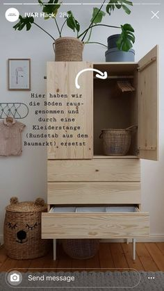 Ikea Hack Source by fraufriemel deco chambre cocooning Ivar Ikea Hack, Ikea Hack Kids, Kids Furniture, Furniture Design, Bedroom Furniture, Hallway Furniture, Farmhouse Furniture, Furniture Plans, Bedroom Decor