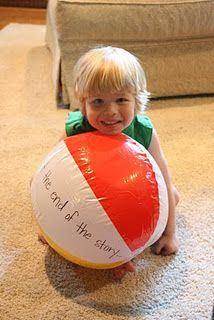 Reading Comprehension Beach Ball - Re-pinned by @PediaStaff – Please Visit http://ht.ly/63sNt for all our pediatric therapy pins