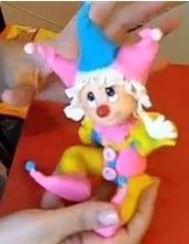 Air Dry Clay Tutorials: Make this Cute Jester Clown