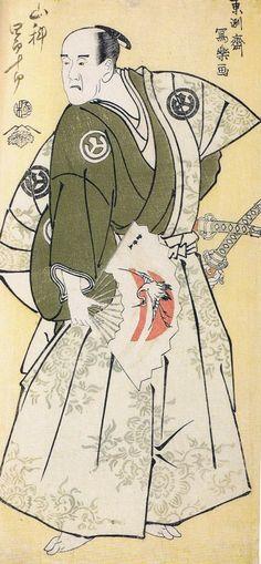 UKIYO - E.......BY SHARAKU........PARTAGE OF ARTIST SALON OF JAPAN.....ON FACEBOOK......