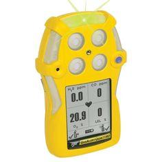 BW GasAlert Quattro QT-XWHM-A-Y-NA Gas Detector