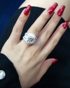 Exclusive Diamond Rings by Jewelry Designer, Bee Primus of Diamond Rings, Diamond Engagement Rings, Diamond Jewelry, Diamond Cuts, Jewelry Rings, Jewellery, Pretty Rings, Beautiful Rings, Wedding Jewelry Sets