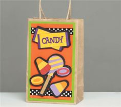 If you have a Cricut, this website has some neat ideas. Otherwise this homemade trick-or-treat bag might also be easy to make without a Cricut