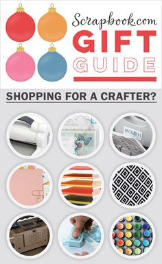Looking for the perfect gift for the crafter in your life? Look no further. Scrapbook.com has everything you need and more!