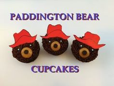 Learn how to make super quick and super adorable Paddington bear cupcakes right here!