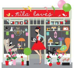 love love love this illustration by Nila Aye