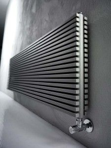Wall-mounted carbon steel decorative radiator TRIM - ANTRAX IT radiators &… Wall Radiators, Best Radiators, Decorative Radiators, Room Interior Design, Interior And Exterior, Flat Interior, Kitchen Radiator, Modern Radiator Cover, Bathroom Fireplace