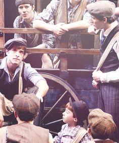 Corey Cott as Jack Kelly in Newsies