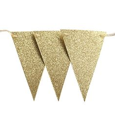 Free Printable: Gold Banner With Entire Alphabet
