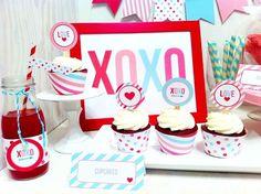 Valentine Party Treats #valentine #treats