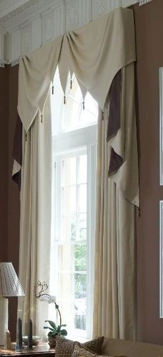 Ideas bedroom window seat curtains valances for 2019 Window Seat Curtains, Curtains And Draperies, Window Coverings, Bedroom Curtains, Window Treatments Living Room, Custom Window Treatments, Curtain Styles, Curtain Designs, Bedroom Windows