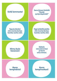 Seikkailukone: Huvipuisto Early Education, Special Education, Pre School, Back To School, Finnish Language, Team Building Exercises, Brain Breaks, Classroom Fun, Teaching Kindergarten