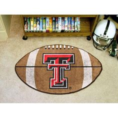 Texas Tech Red Raiders NCAA Football Floor Mat (22x35)